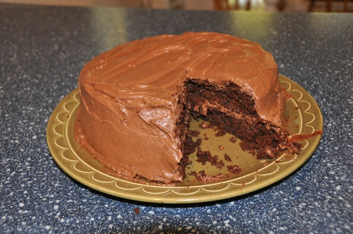 vegan chocolate cake recipe