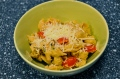 pasta with garlic sauce