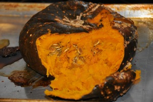 cooked buttercup squash