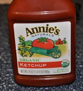 I heart Annies' organic ketchup
