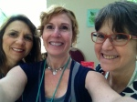 Judy Fitzgerald, Me, and Ann at the conference