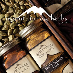 organic herbs and oils