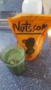 Do not adjust the color on your computer screen! this is a TRUE beautiful green smoothie!